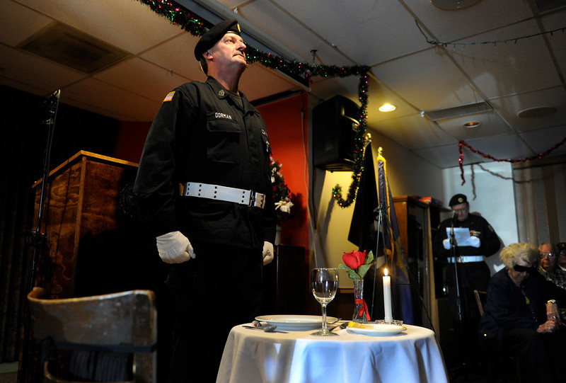 . A presentation to POW\'s was made at the start of the ceremony. The American Legion Post 1 in Denver hosts a Remember Pearl Harbor 71st Anniversary Program on Friday, Dec. 7, 2012, honoring the survivors, their wives, and the widows. Kathryn Scott Osler, The Denver Post