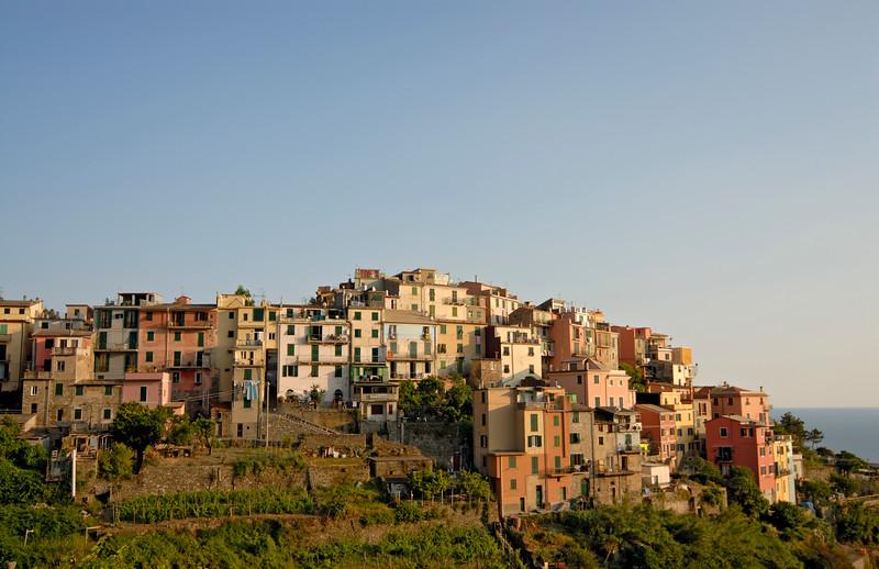 Coastal village of Corniglia, Cinque Terre (Italy)
