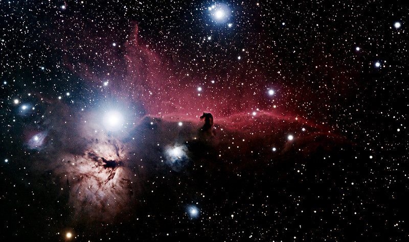DS-Gary Colwell - Horsehead and Flame Nebulas