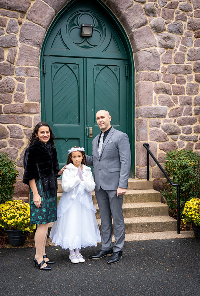 2020-12-05 Holy Communion for Gabriella