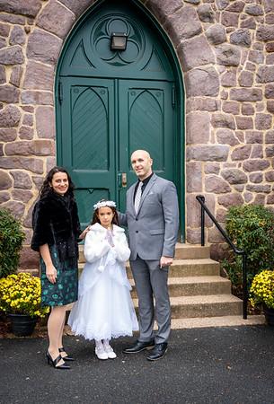 2020-12-05 Holy Communion for Gabriella