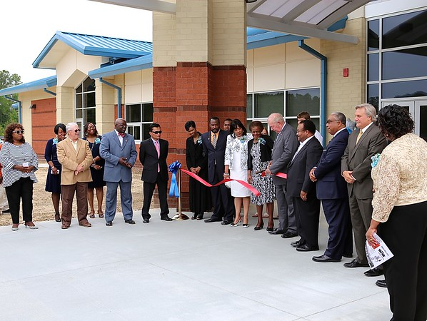 Bertie High School ,New School Ribbon Cutting