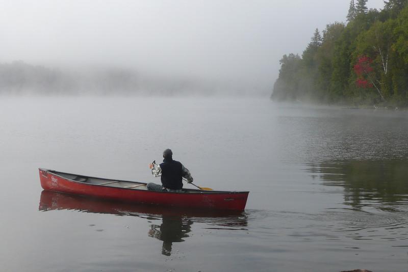 Morning Fog. Papineau-Labelle Wildlife Reserve