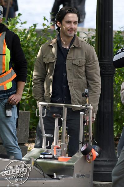 Milo Ventimiglia Films The Art of Racing in the Rain in Vancouver, Canada