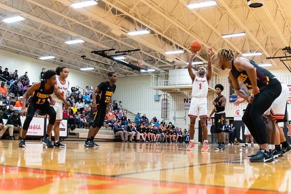 NDHS VS Atkins Basketball 2020 State Tournament