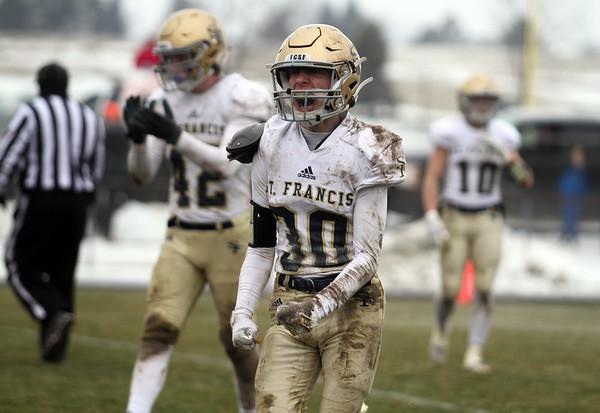 Football: TC St. Francis at Cass City, Jan. 16, 2021