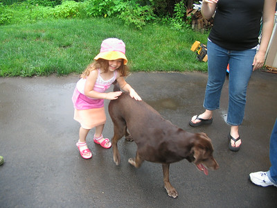 June 24, 2006 photos (Hailey celebrates Jack Berger's 5th birthday at his party.)