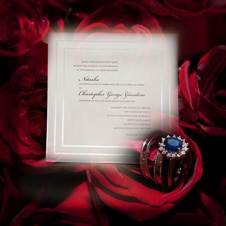 Nitasha & Chris American Bridal Album