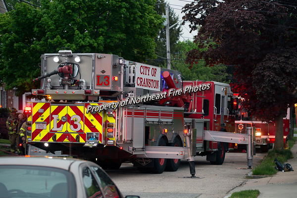 Cranston- 2nd Alarm- Friendly Road-5/14/2018