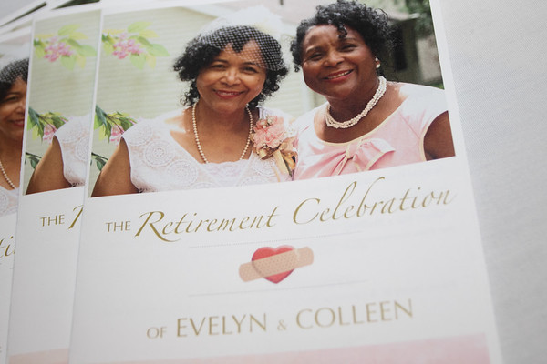 Retirement Celebration of Evelyn & Colleen