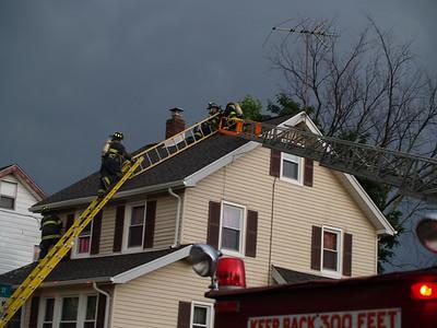 06-26-09 Bergenfield, NJ - Working Fire