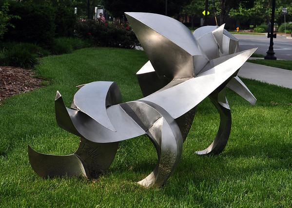Outdoor Downtown Sculpture Exhibit 2011
