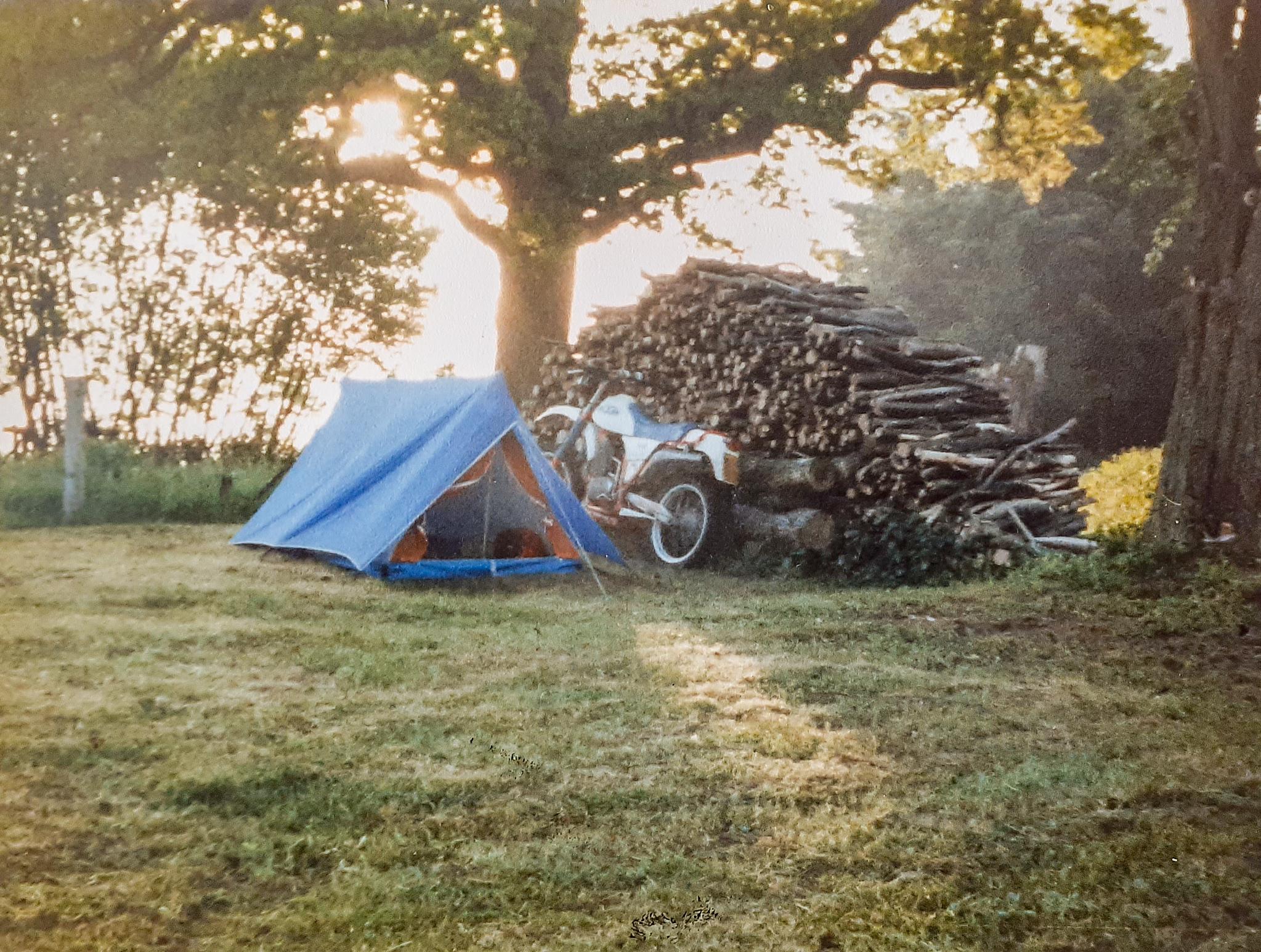 Het begin van vele kampeeravonturen
