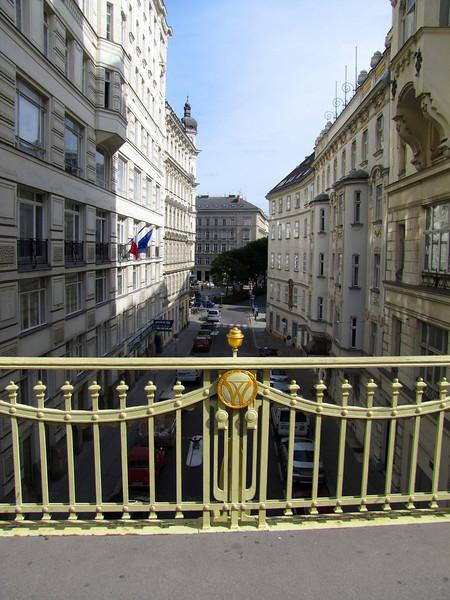 20-HeinrichsGasse below; the small open area is ConcordiaPlatz