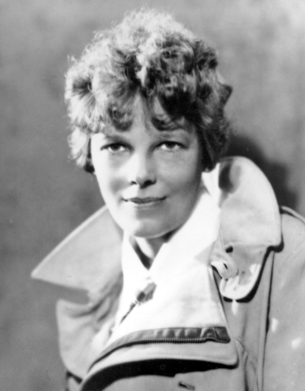 . FILE - An undated file photo shows American aviatrix Amelia Earhart.  A $2.2 million expedition is hoping to finally solve one of America\'s most enduring mysteries. What happened to famed aviator Amelia Earhart when she went missing over the South Pacific 75 years ago?   (AP Photo, File)