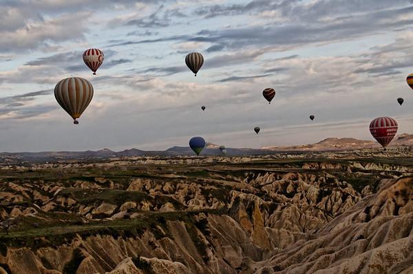 viagem de balão [Cappadocia]