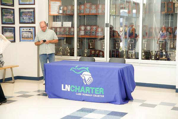 5-9-17 Senior signing ceremony