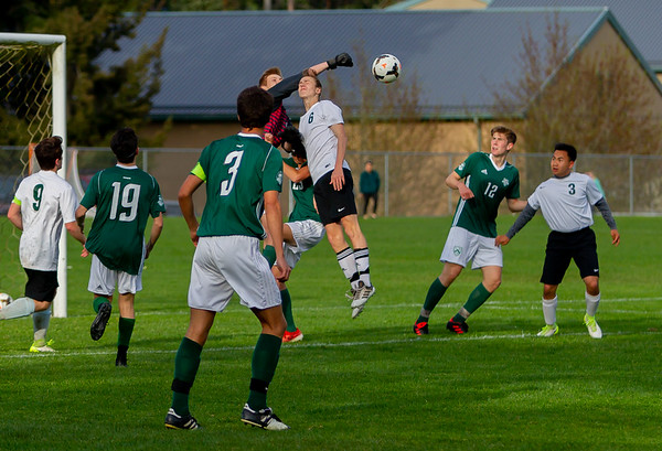 Game Set one: Vashon Island High School Boys Varsity Soccer v Charles Wright - Nisqually League Championship