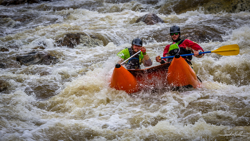White Water in the  Paddlecat