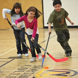 Bishop Belleau Grade 2/3 Floor Hockey 2009 January 23rd