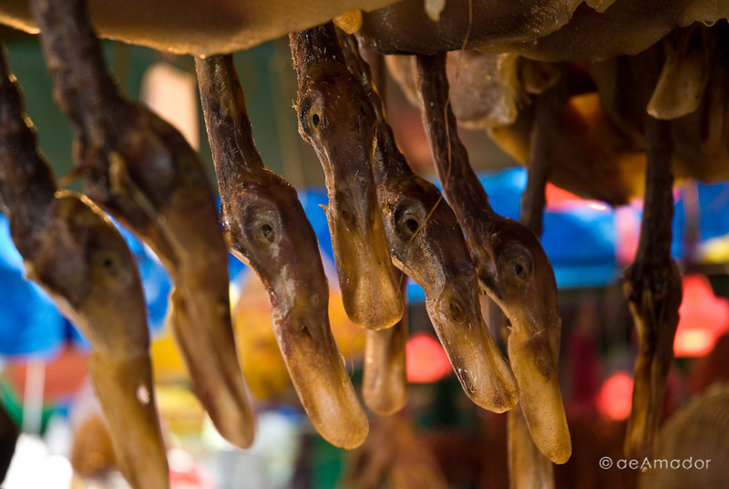 aeamador©-HK08_DSC0254     Saukiwan market. Saukiwan, Hong Kong island.  Duck is very common.