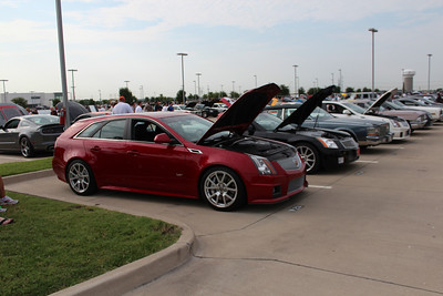 Cars and Coffee July 2012