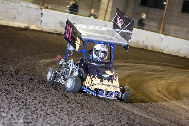 Outlaw Kart Racing Cage Cup 2014
