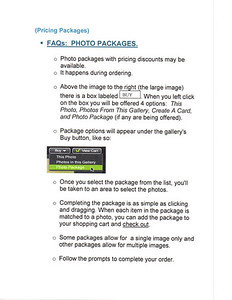 FAQs: Photo Package Pricing