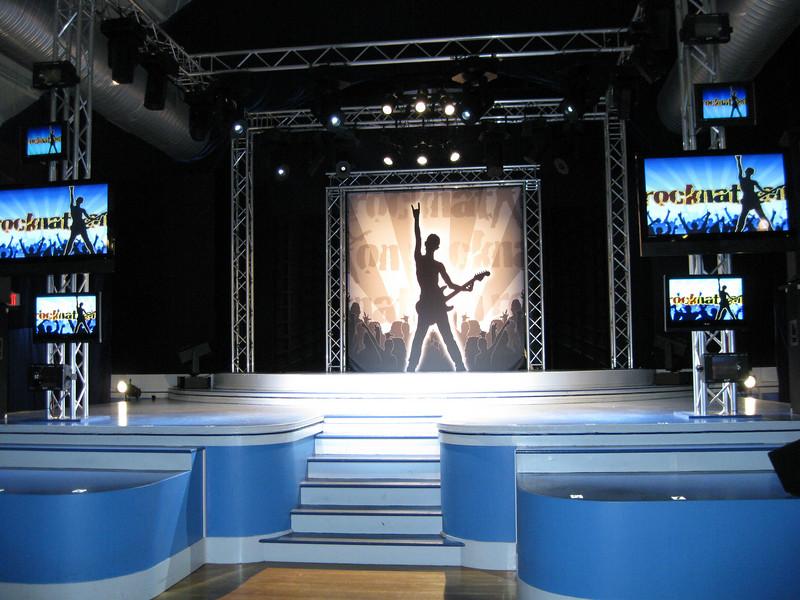 The Rocknation stage.