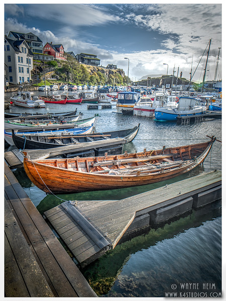 The Faroe Boats    Photography by Wayne Heim