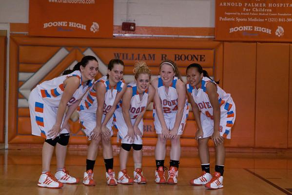 Boone Girls Basketball Senior Night - 10