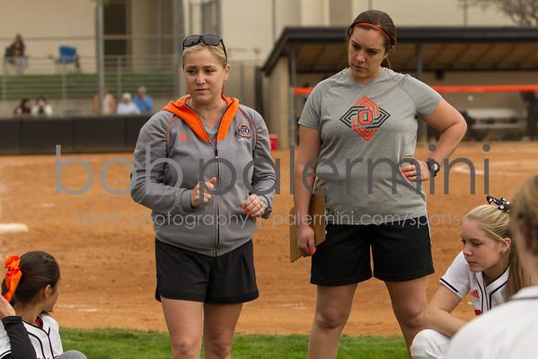 Oxy Softball vs St. Katherine 2-7-15
