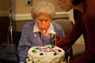 Grandma Emma's 100th Birthday