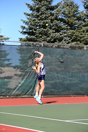 High School Tennis - Marquette Redettes vs Negaunee Miners - 09/16/13