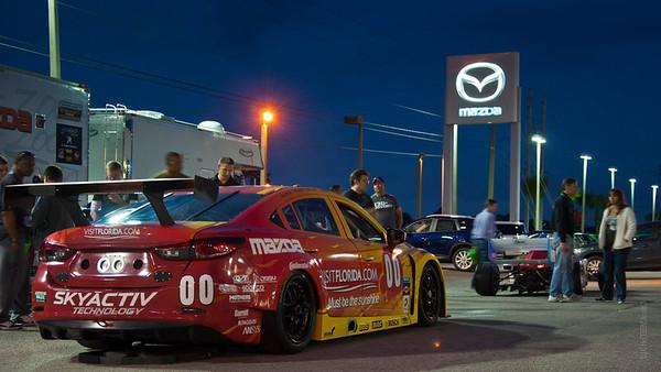 2013 Mazda Pre-race Exhibition