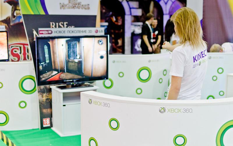 Kinect at Igromir 2011