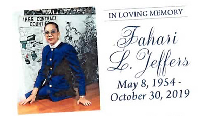 Fahari L. Jeffers Celebration of Life