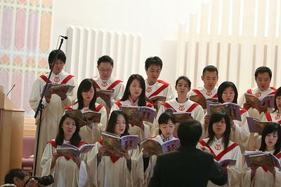 LA gospel choir