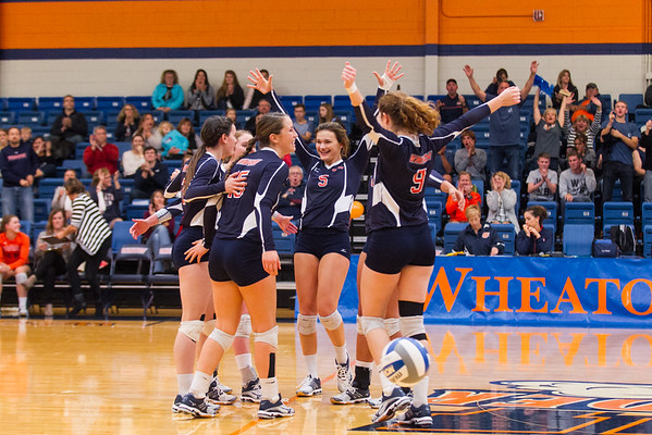 Wheaton College Volleyball vs University of Chicago, October 20, 2016