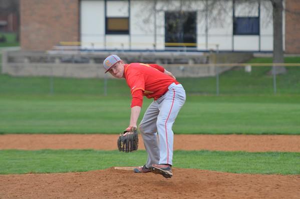 CHS varsity baseball vs Decatur Eisenhower Win 15-4  April 13, 2015