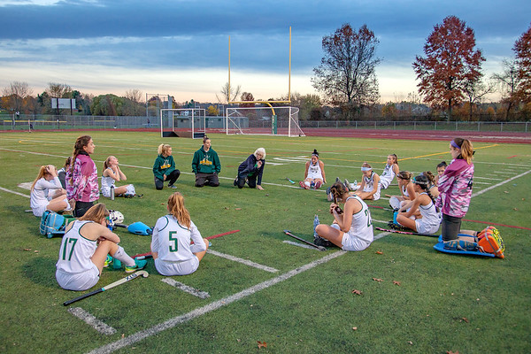 EHS Field Hockey vs. Ridgefield (Class L Tournament First Round)