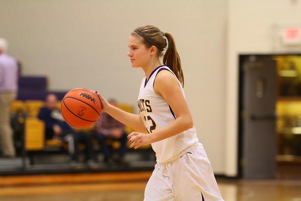 Girls Basketball vs. Galesburg - 12/08/15 - KCHS JV