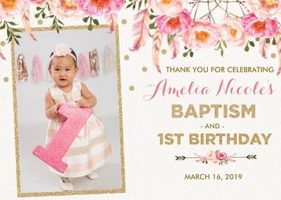 20190316 Amelia 1st Birthday & Baptism
