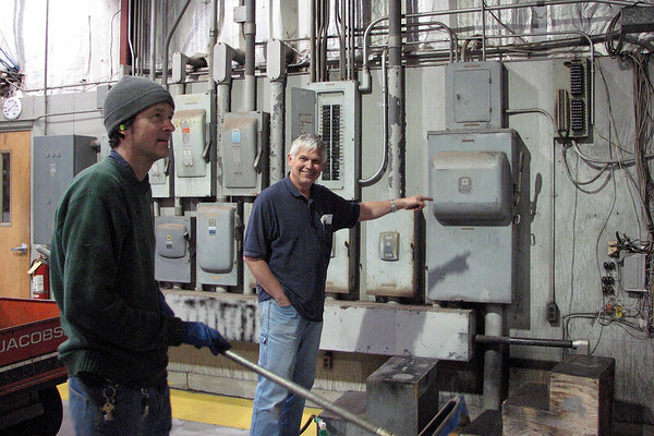 November 11:  Technician Mike loves his job .  .  .
