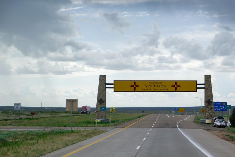 TX/NM Border I-40