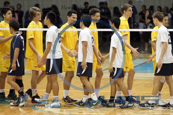 Punahou Boys Volleyball - KSH 5-10-14
