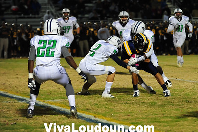 Football: Woodgrove at Loudoun County Football District Playoff (11-9-2012 By Jeff Vennitti)