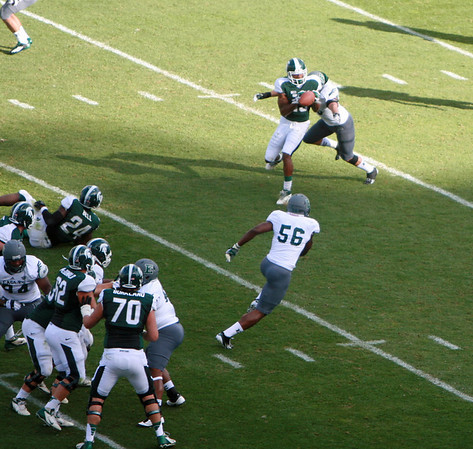 EMU at MSU football 2012