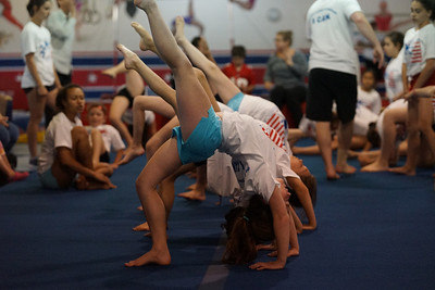 Jenna and Julie's Acrobatics