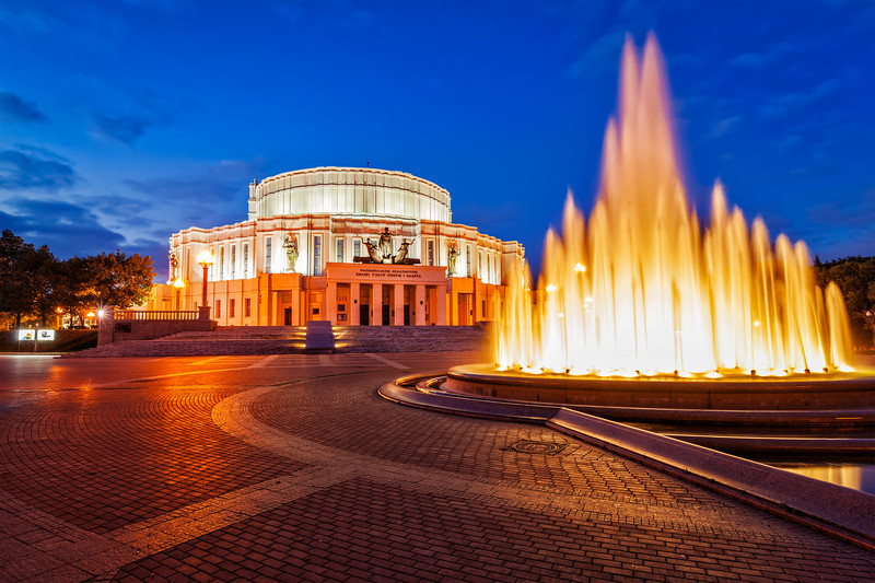 The National Academic Bolshoi Opera and Ballet Theatre of the Republic of Belarus, Minsk
